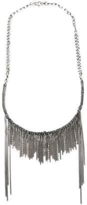 Emanuele Bicocchi Swarovski crystal chain 'Fringe' headband