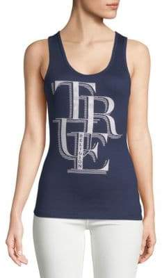 True Religion Stacked Logo Tank Top
