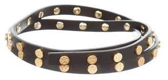 Tory Burch Leather Thin Belt