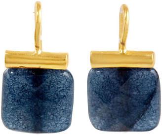 Catherine Canino Dark Blue Jade Earrings