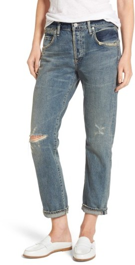 Women's Citizens Of Humanity Emerson Ripped Slim Boyfriend Jeans