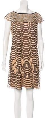 Temperley London Tulle & Silk Dress