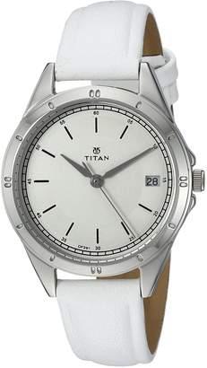 Titan Women's 2556SL01 Neo Analog Display Analog Quartz Watch
