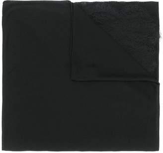 Ermanno Scervino lace panel scarf