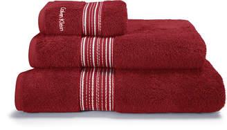Calvin Klein Riviera Towel - Vapour - Bath Towel