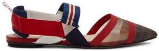 Fendi Multicolor Forever Colibri Ballerina Flats