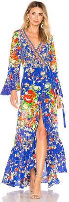 Camilla Long Sleeve Wrap Dress