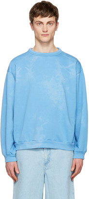 Acne Studios Blue Fint Bear Pullover $380 thestylecure.com