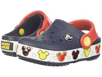 458ff2dd0 Crocs Crocband Mickey Fun Lab Lights Clog (Toddler Little Kid)