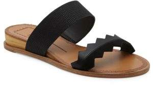 Dolce Vita Pacer Calf Hair Sandals $100 thestylecure.com