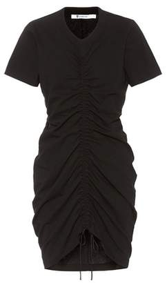 Alexander Wang Cotton drawstring dress