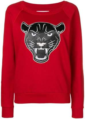 Quantum Courage panther head sweater