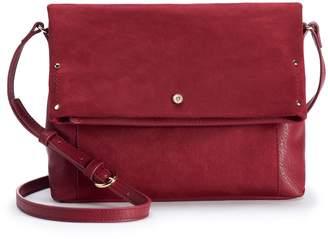 Lauren Conrad Suzy Solid Crossbody Bag