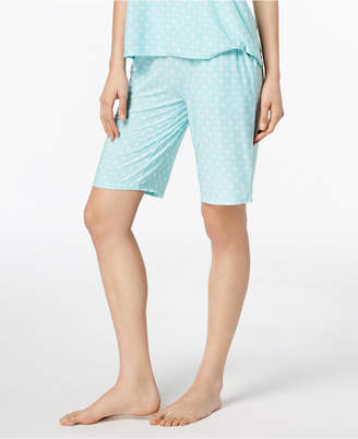 Alfani Geometric-Print Bermuda Pajama Shorts, Created for Macy's