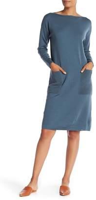 Lafayette 148 New York Texture Wool Dress
