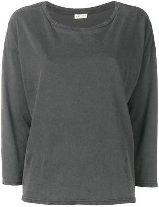 Masscob distressed long sleeve T-shirt