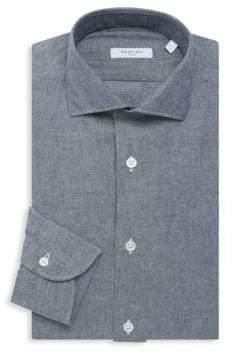 Boglioli Chambray Cotton Dress Shirt