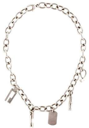 Gucci Charm Collar Necklace
