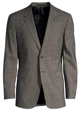 Theory Marled Knit Suit Jacket