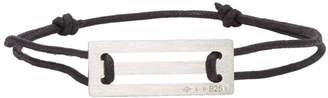 Le Gramme Black Cord Le 25/10g Bracelet
