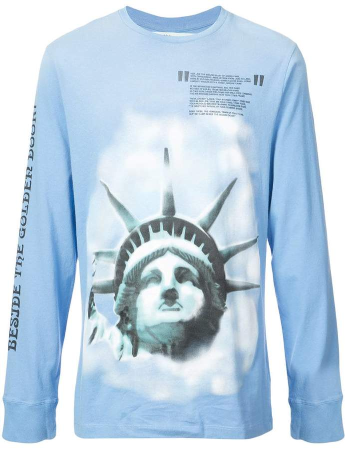 Off-White liberty long sleeve T-shirt