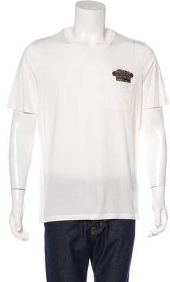 Louis Vuitton Logo Graphic T-Shirt