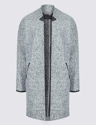 Marks and Spencer PETITE Open Front Coat