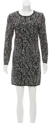 Surface to Air Long Sleeve Textured Dress