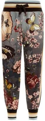 Dolce & Gabbana Geisha Print Sweatpants