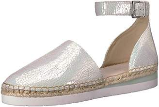 Kenneth Cole New York Women's Babbot Sporty Low Ankle Strap Espadrille Wedge Sandal