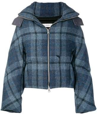J.W.Anderson tartan puffer jacket