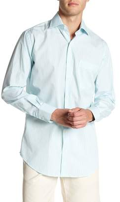 Peter Millar Summer Stripe Print Regular Fit Shirt