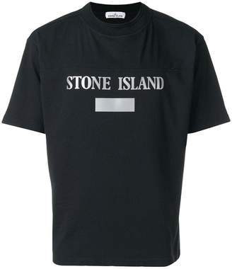 Stone Island logo printed T-shirt