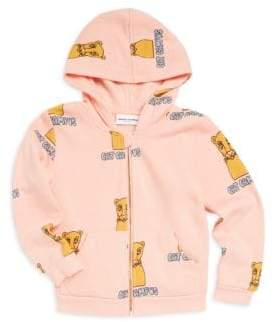 Mini Rodini Baby's, Toddler's, Little Girl's & Girl's Cat Campus Hoodie