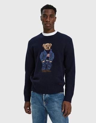 Polo Ralph Lauren Bear Crewneck Sweater