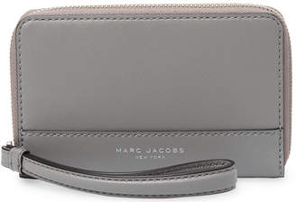 Marc Jacobs Saffiano Phone Wristlet Long Wallet