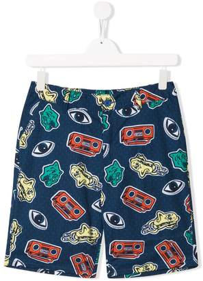 Kenzo printed shorts