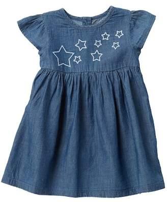 Harper Canyon Chambray Dress (Baby Girls)