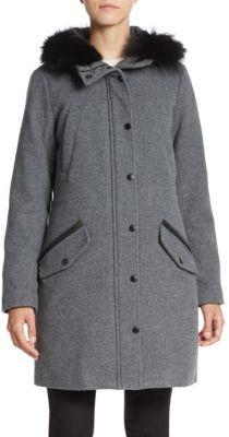Fur-Trimmed Hooded Parka $895 thestylecure.com
