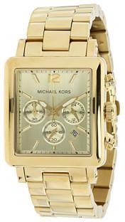 Michael Kors Rectangle Chronograph Watch