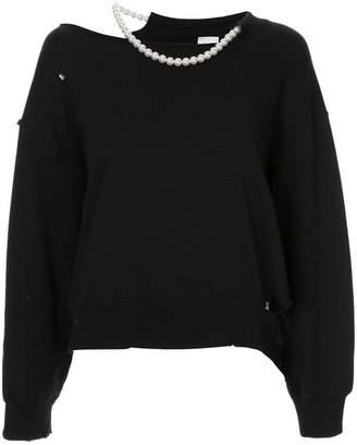 Puma Maison Yasuhiro distressed slouchy sweatshirt