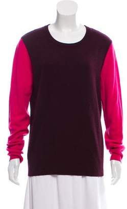 Equipment Cashmere Colorblock Sweater