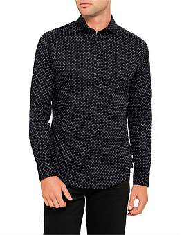 Armani Jeans Eagle All Over Print Shirt
