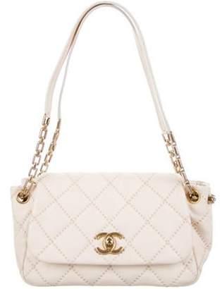 Chanel 2011 Retro Chain Accordion Flap Bag gold 2011 Retro Chain Accordion Flap Bag