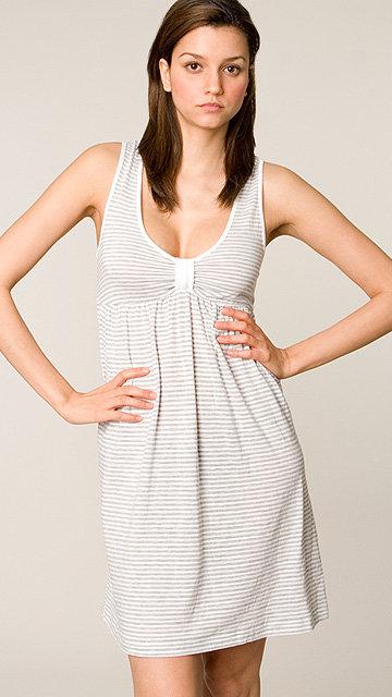 C & C California White Stripe Ashlyn Dress