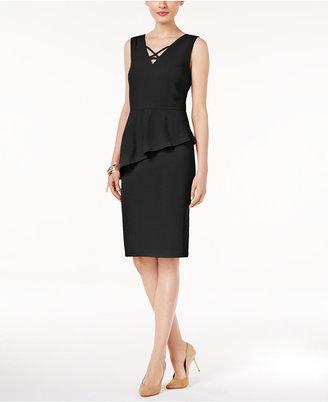Thalia Sodi Asymmetrical Peplum Dress, Only at Macy's $89.50 thestylecure.com