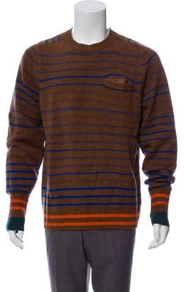 Sacai Wool Crew Neck Sweater