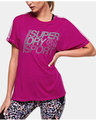 c0e673a9a Superdry Loose-Fit Logo Graphic T-Shirt