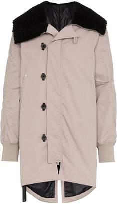 Unravel Project oversized parka coat
