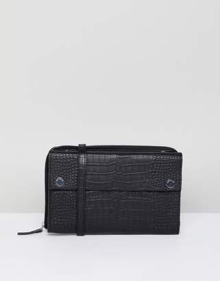 Whistles Zip Detail Shoulder Bag